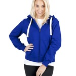 Ramo Ladies/Junior Heavy Zip Fleece Hoodie