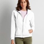 Gildan Ladies Zip Hooded Sweatshirt