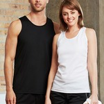 Biz Collection Mens Cooldry Singlet