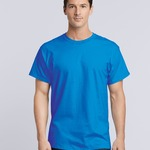 Gildan Mens Ultra Cotton Crew Tee