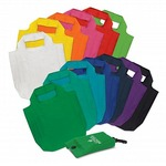 Reusable Fold-Away Shopping Bags